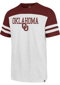 47 Oklahoma Sooners White Versus Club Fashion Tee