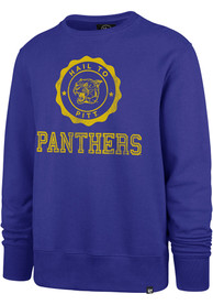 Pitt Panthers 47 Knockaround Headline Crew Sweatshirt - Blue