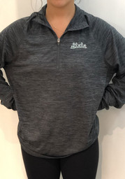 47 Michigan State Spartans Charcoal Impact 1/4 Zip Pullover
