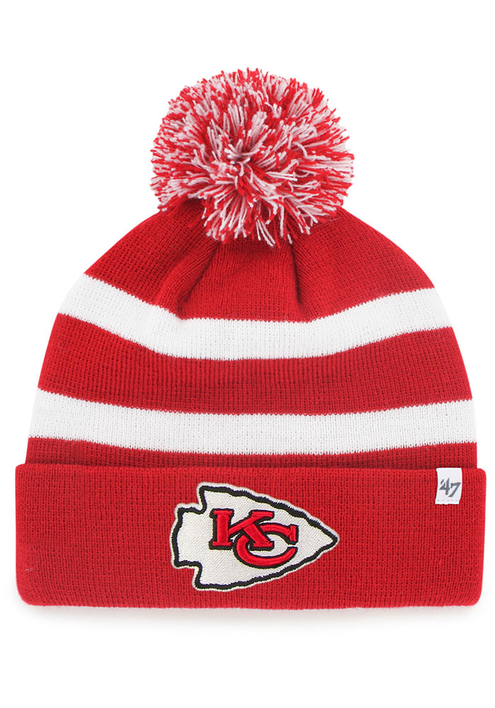 '47 Kansas City Chiefs Red on Red Breakaway Cuff Knit Hat