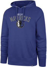 47 Dallas Mavericks Blue Outrush Headline Hoodie