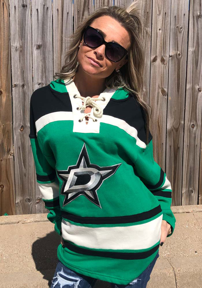 Tyler Seguin '47 Dallas Stars Mens Kelly Green Superior Lacer Fashion Hood - Image 4
