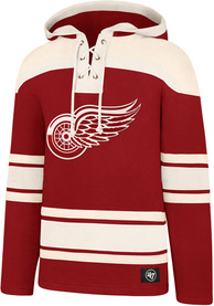 Detroit Red Wings 47 Superior Lacer Fashion Hood - Red