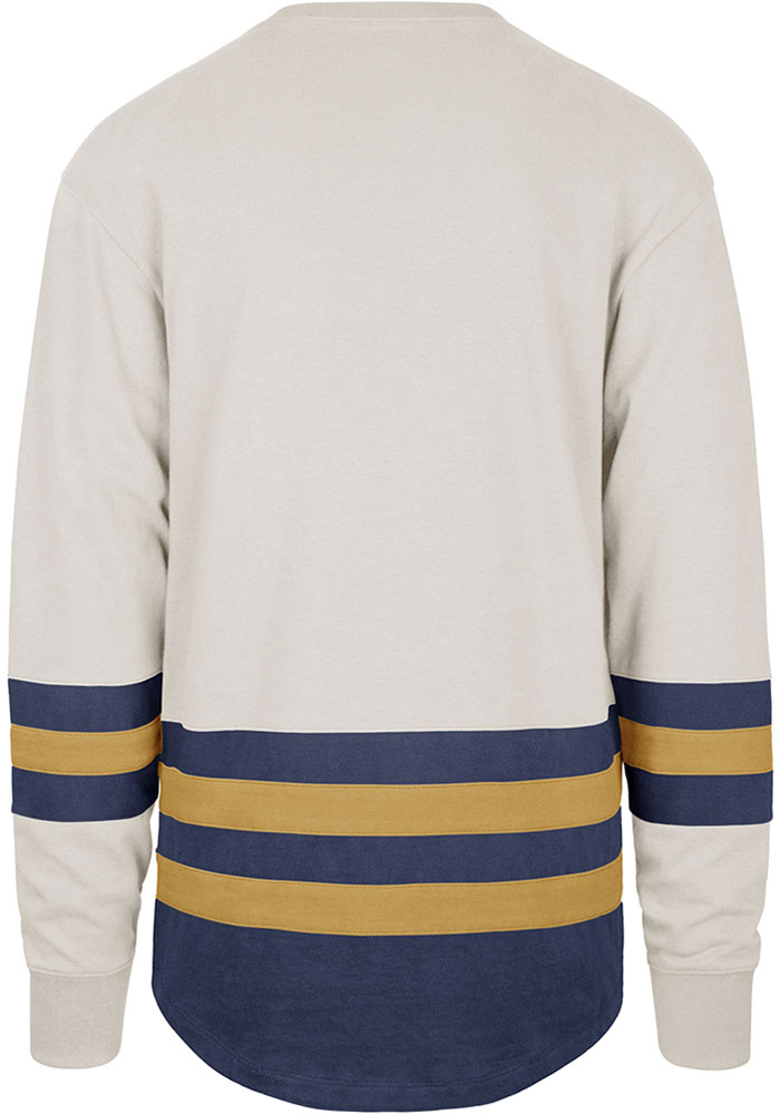 47 St Louis Blues Brown Center Ice Long Sleeve Fashion T Shirt - Image 2