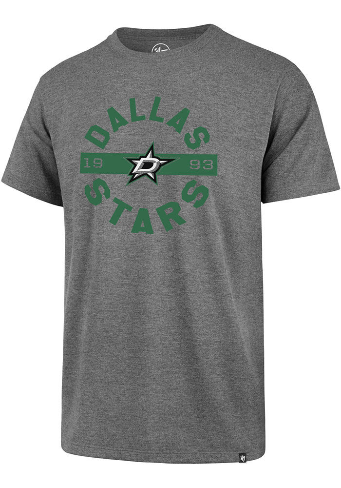 Dallas Stars 47 Roundabout T Shirt - Grey