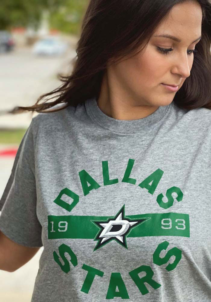 47 Dallas Stars Grey Roundabout Short Sleeve T Shirt - Image 3