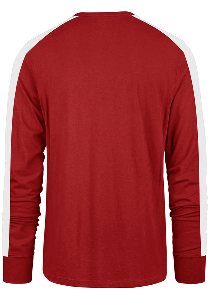'47 Detroit Red Wings Red Stripe Arm Legion Long Sleeve T Shirt - Image 2