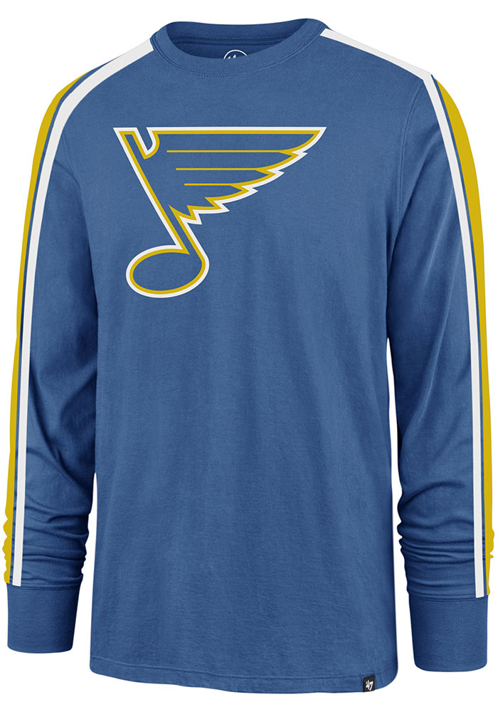 '47 St Louis Blues Blue Stripe Arm Legion Long Sleeve T Shirt - Image 1