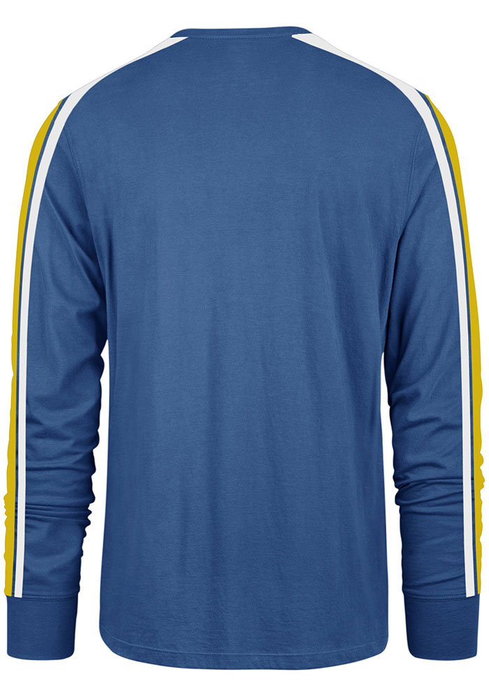 '47 St Louis Blues Blue Stripe Arm Legion Long Sleeve T Shirt - Image 2