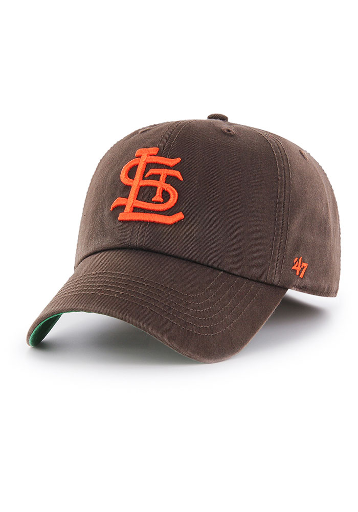 '47 St Louis Browns Mens Brown Franchise Fitted Hat - Image 1