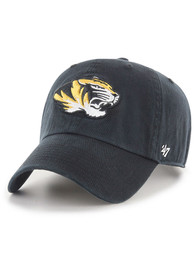 47 Missouri Tigers Black Clean Up Youth Adjustable Hat