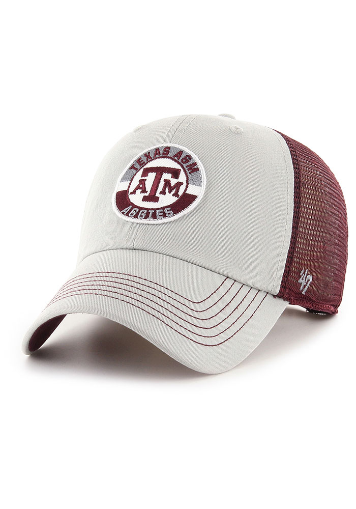 47 Texas A&M Aggies Porter Clean Up Adjustable Hat - Maroon