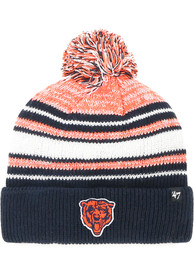 47 Chicago Bears Navy Blue Bubbler Cuff Youth Knit Hat
