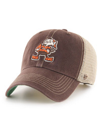 47 Cleveland Browns Trawler Clean Up Adjustable Hat - Brown