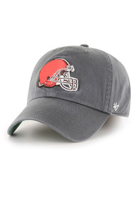 Cleveland Browns 47 Charcoal Franchise Fitted Hat