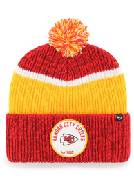 47 Kansas City Chiefs Red Holcomb Cuff Knit Hat