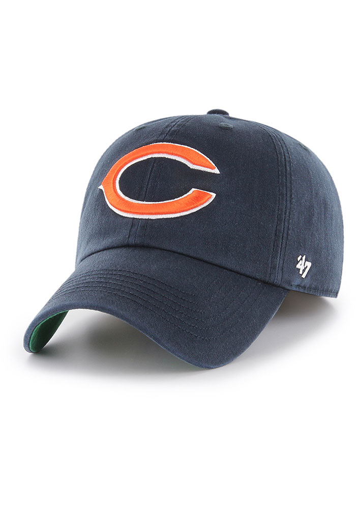 47 Chicago Bears Mens Navy Blue Franchise Fitted Hat - Image 1