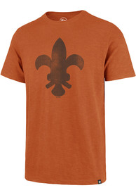 47 St Louis Browns Orange Grit Vintage Scrum Fashion Tee