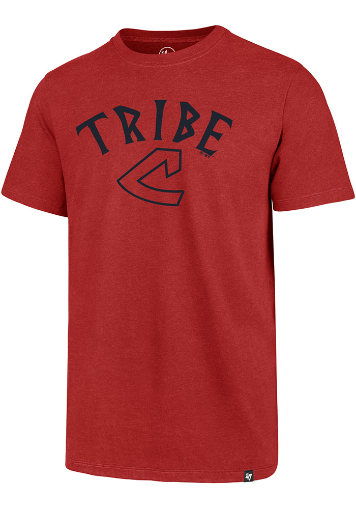 Cleveland Indians 47 Regional Club T Shirt - Red