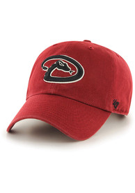 47 Arizona Diamondbacks Clean Up Adjustable Hat - Red