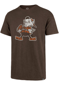 47 Cleveland Browns Brown Grit Vintage Fashion Tee