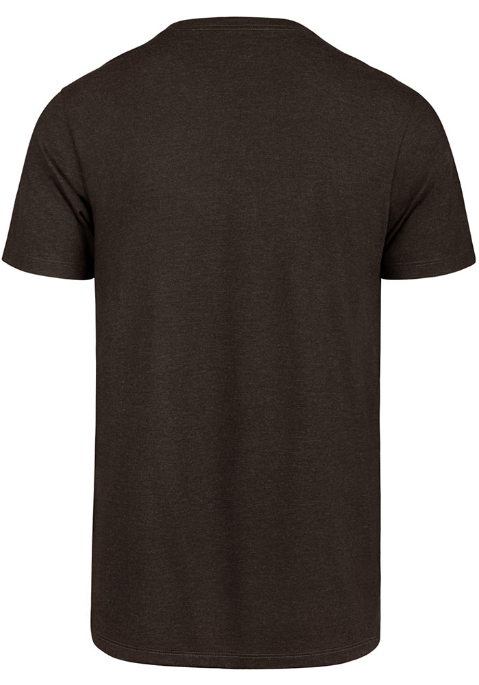 '47 Cleveland Browns Brown Fully Loaded Short Sleeve T Shirt - Image 2