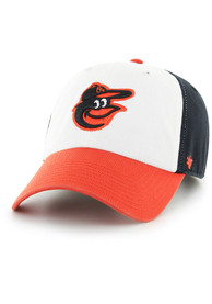 47 Baltimore Orioles Clean Up Adjustable Hat - Black