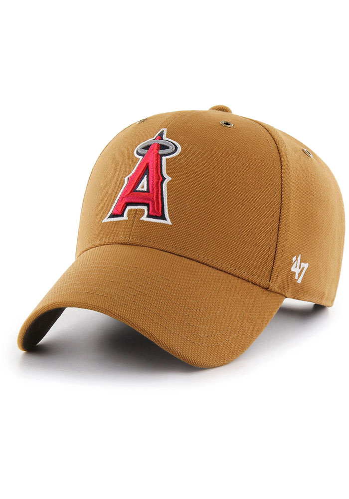 '47 Los Angeles Angels Carhartt MVP Adjustable Hat - Brown - Image 1