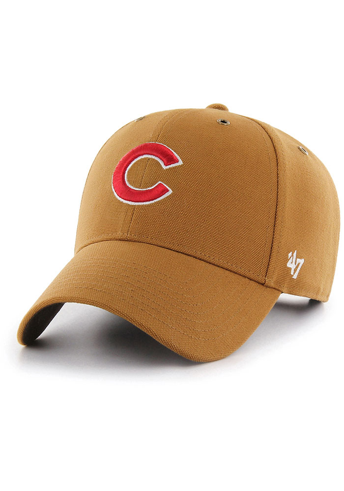 47 Chicago Cubs Carhartt MVP Adjustable Hat - Brown - Image 1