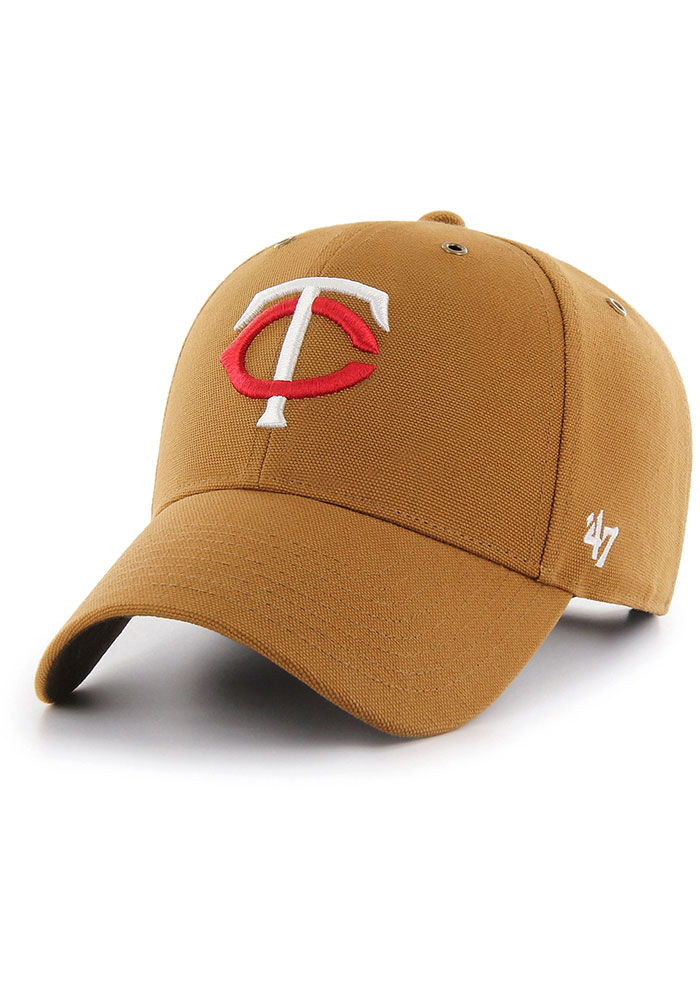 '47 Minnesota Twins Carhartt MVP Adjustable Hat - Brown - Image 1