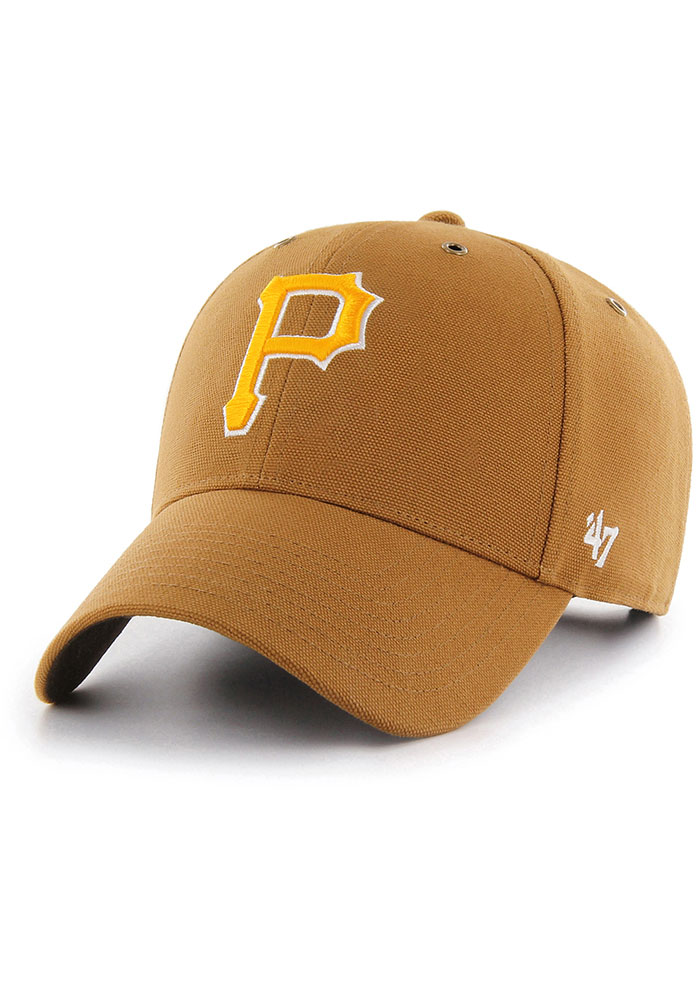 '47 Pittsburgh Pirates Carhartt MVP Adjustable Hat - Brown - Image 1