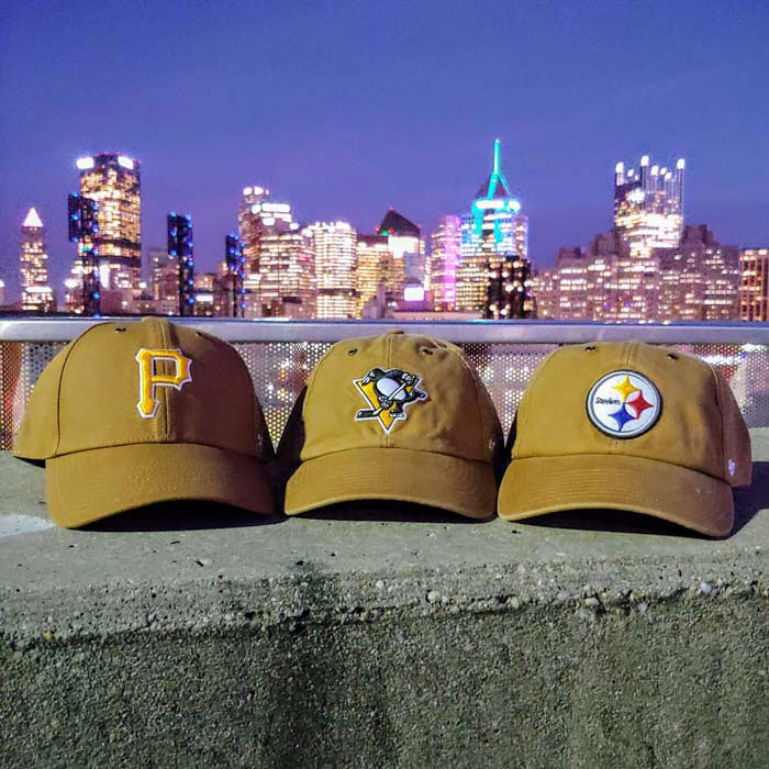 '47 Pittsburgh Pirates Carhartt MVP Adjustable Hat - Brown - Image 3