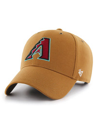 Arizona Diamondbacks 47 Carhartt MVP Adjustable Hat - Brown