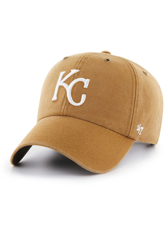 '47 Kansas City Royals Carhartt Clean Up Adjustable Hat - Brown - Image 1