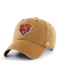 Chicago Bears 47 Carhartt Clean Up Adjustable Hat - Brown