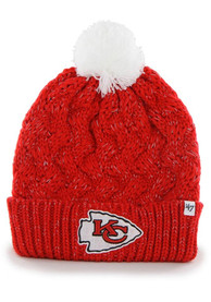 Kansas City Chiefs Baby 47 Fiona Knit Hat - Red