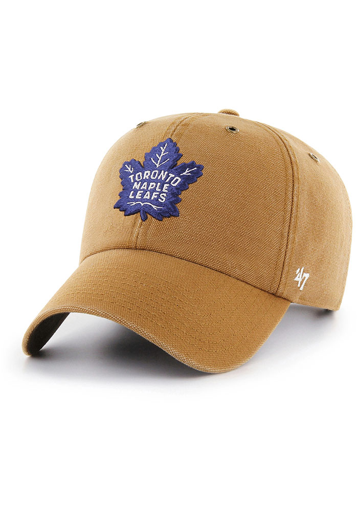 47 Toronto Maple Leafs Carhartt Clean Up Adjustable Hat - Brown - Image 1