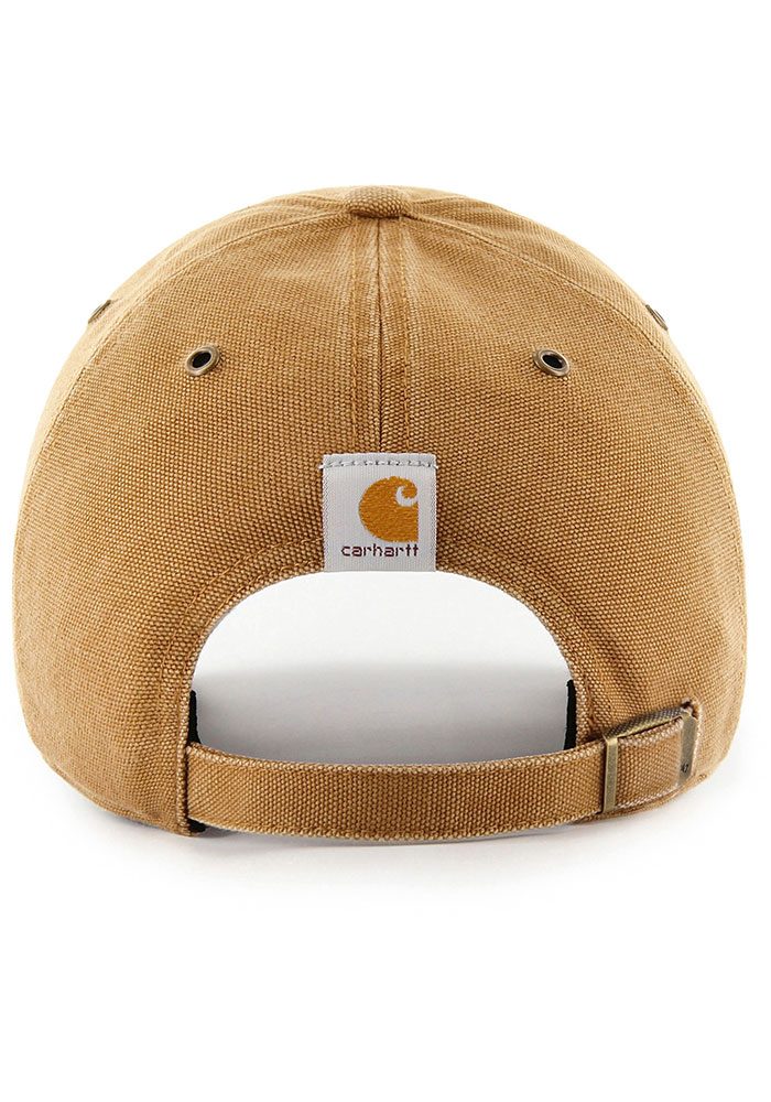 47 Toronto Maple Leafs Carhartt Clean Up Adjustable Hat - Brown - Image 2