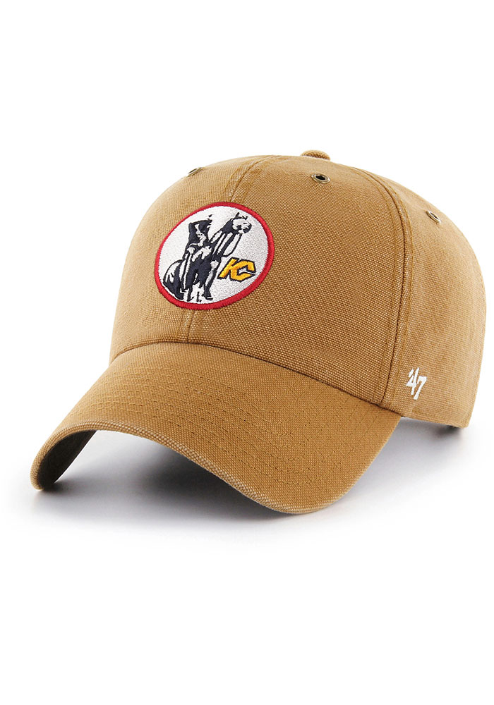 Kansas City Scouts 47 Carhartt Clean Up Adjustable Hat - Brown