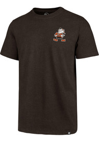 Cleveland Browns 47 Line Up Backer T Shirt - Brown