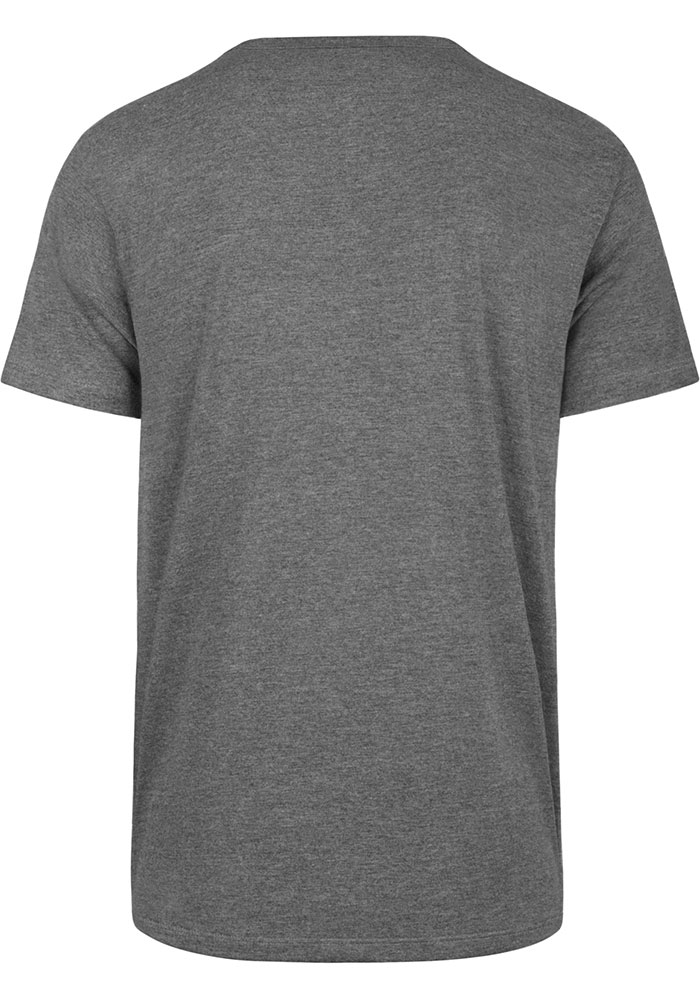 '47 St Louis Blues Grey STL Block Short Sleeve T Shirt - Image 2
