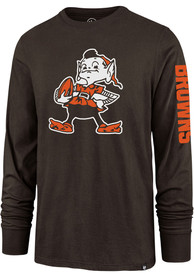 47 Cleveland Browns Brown Team Mascot Tee