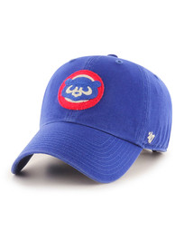 Chicago Cubs 47 Retro McClean Clean Up Adjustable Hat - Blue