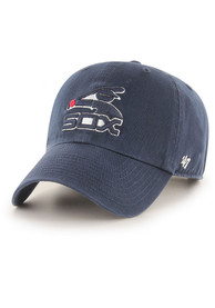 Chicago White Sox 47 Retro Clean Up Adjustable Hat - Navy Blue