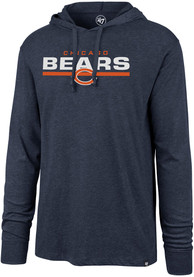 best service 16dc8 a19a5 '47 Chicago Bears Navy Blue End Line Club Hoodie