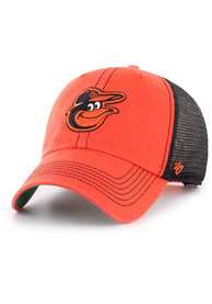 47 Baltimore Orioles Trawler Clean Up Adjustable Hat - Orange
