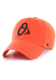 Baltimore Orioles 47 Clean Up Adjustable Hat - Orange