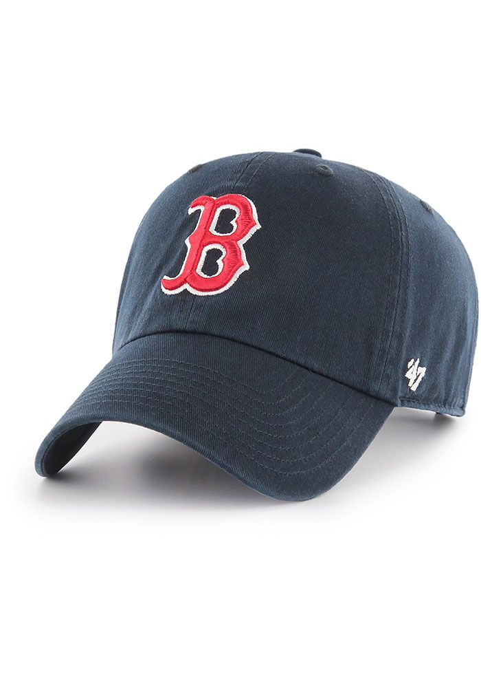 47 Boston Red Sox Clean Up Adjustable Hat - Navy Blue - Image 1