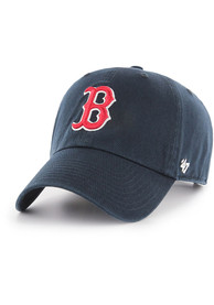 Boston Red Sox 47 Clean Up Adjustable Hat - Navy Blue