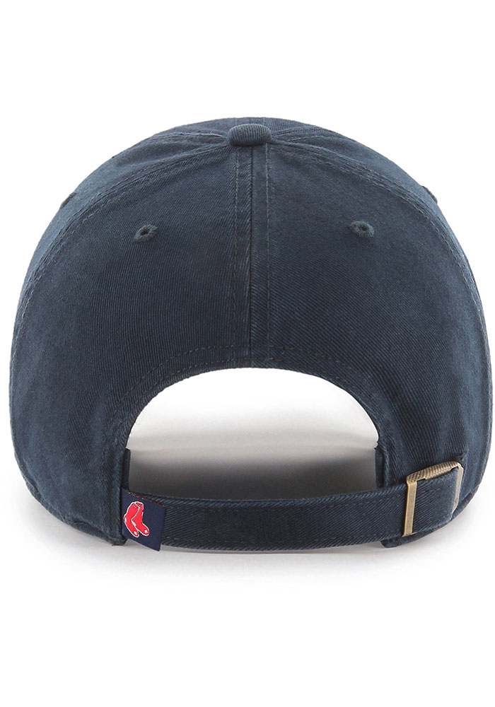 47 Boston Red Sox Clean Up Adjustable Hat - Navy Blue - Image 2